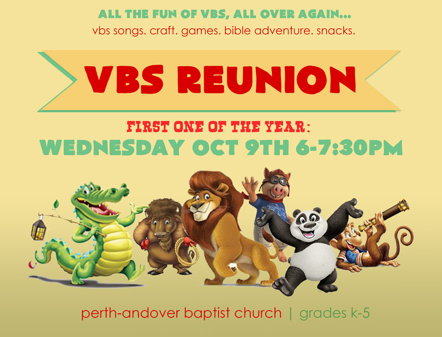 VBS Reunion Oct 2013